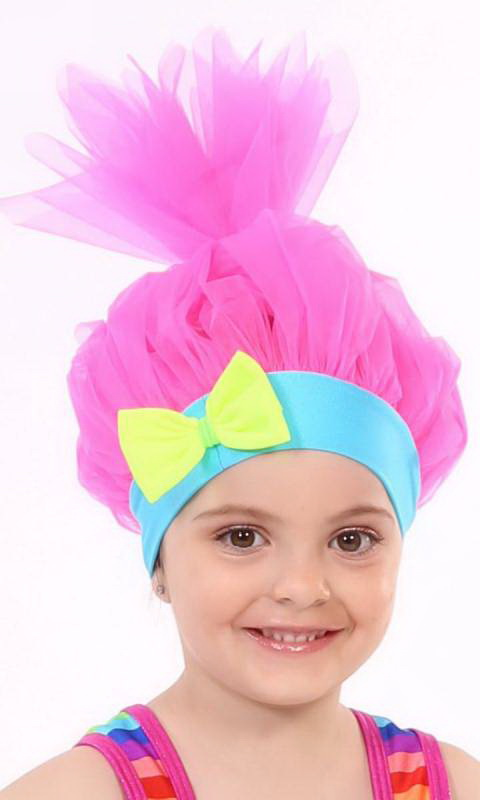 TROLL HAT/WIG - Pink