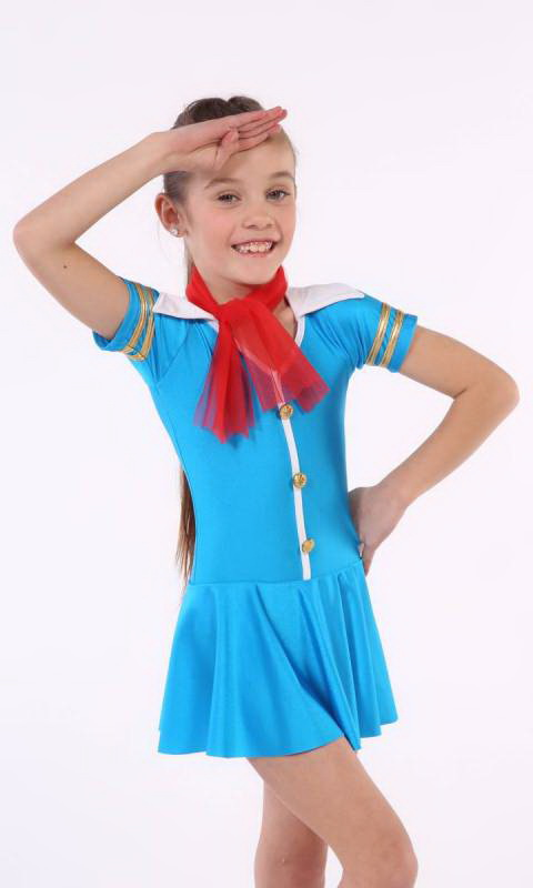 FLY WITH ME  - includes hat + scarf Dance Costume