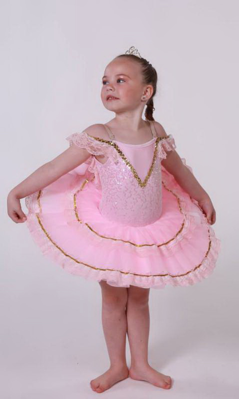 ALINA - BUDGET TUTU - Pink, white and gold