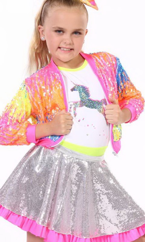 SEQUIN ZIP UP JACKET - ONLY Dance Costume