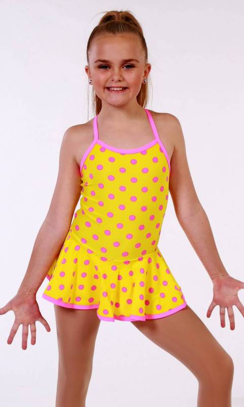 SKATER DRESS - spandex prints Dance Costume