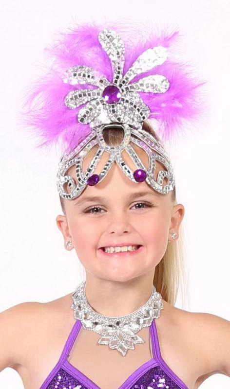 SHOWGIRL HAT - Medium Dance Costume