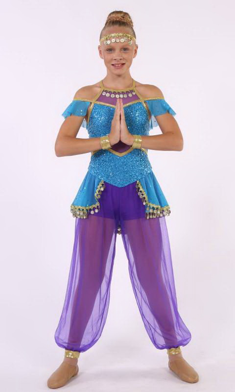 MAGIC CARPET - includes hair accessory and Dance Costume