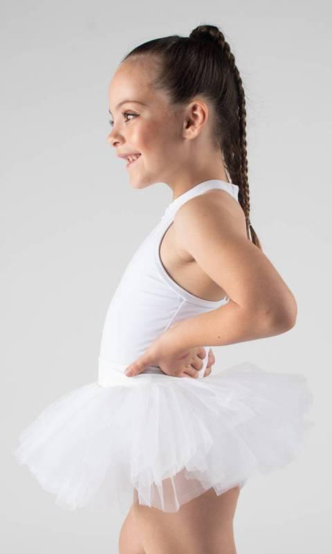 BABY TUTU SKIRT  - White