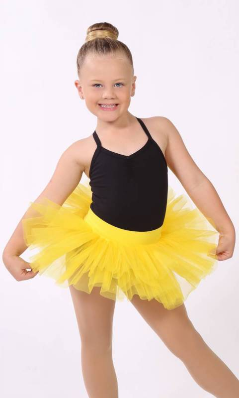 BABY TUTU SKIRT  - YELLOW 1168 (Neon Sunshine)