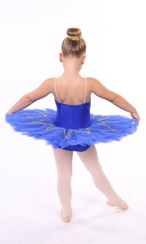 STAR TUTU - Royal Blue and Gold