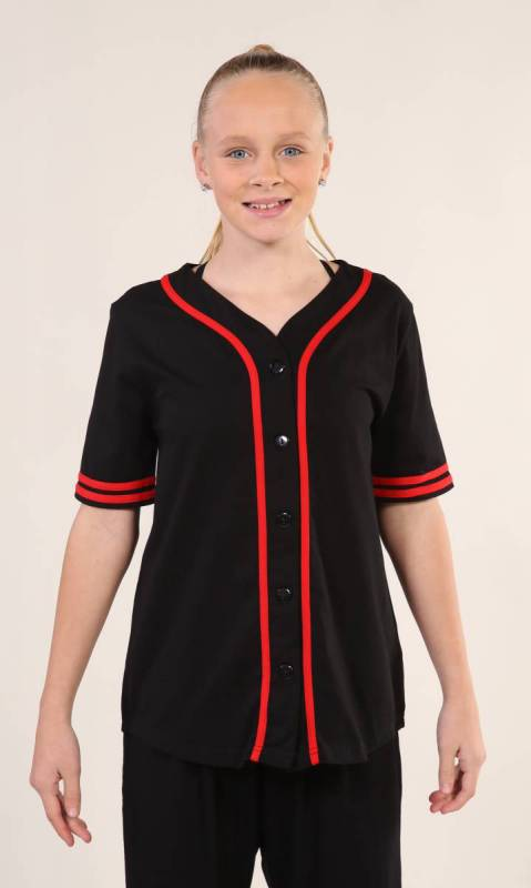 BASEBALL TOP  Dance Studio Uniform