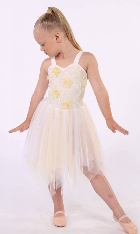 Lyrical waltz Dance Costume