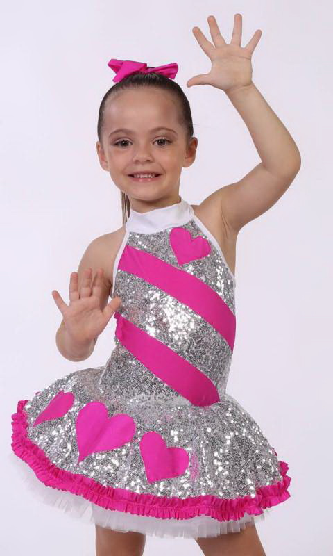 BEAT OF MY HEART  Dance Costume