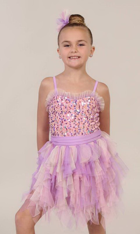 Butterfly Kisses  L17001 - Lilac and Pink