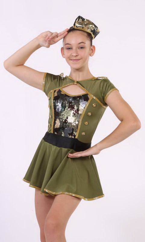 IN THE MOOD  Dance Costume