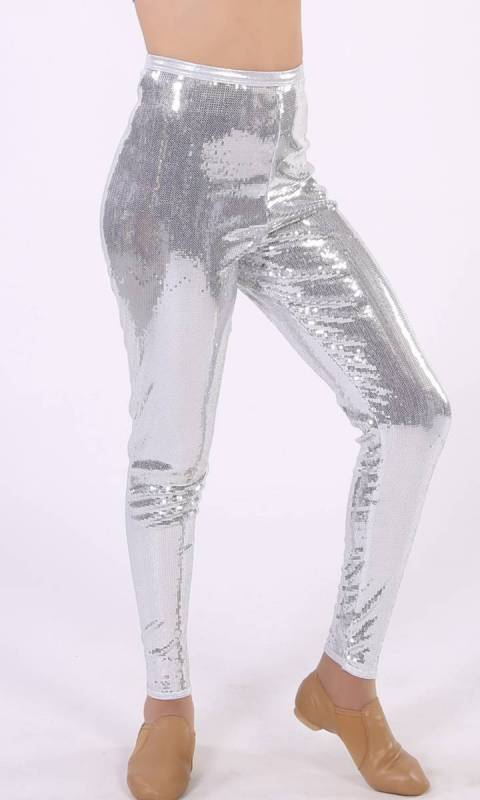 SILVER STRETCH SEQUIN + SILVER FOG