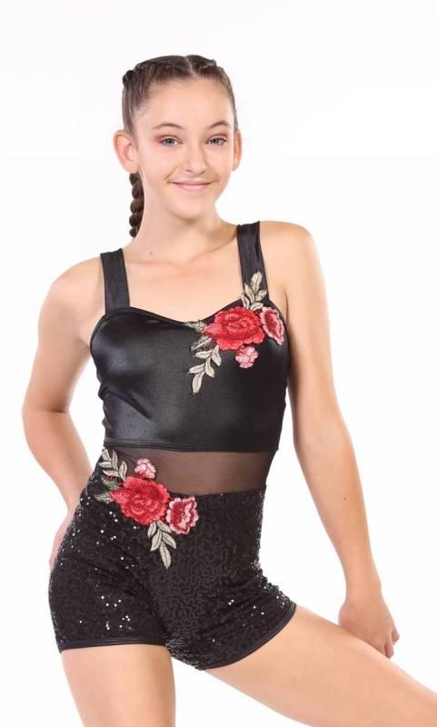 ROSE SHORTARD Dance Costume