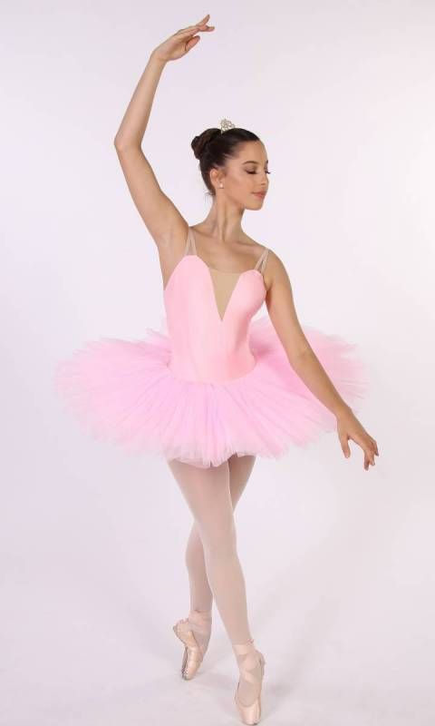 PANCAKE TUTU -  UNDECORATED  - Pastel Pink