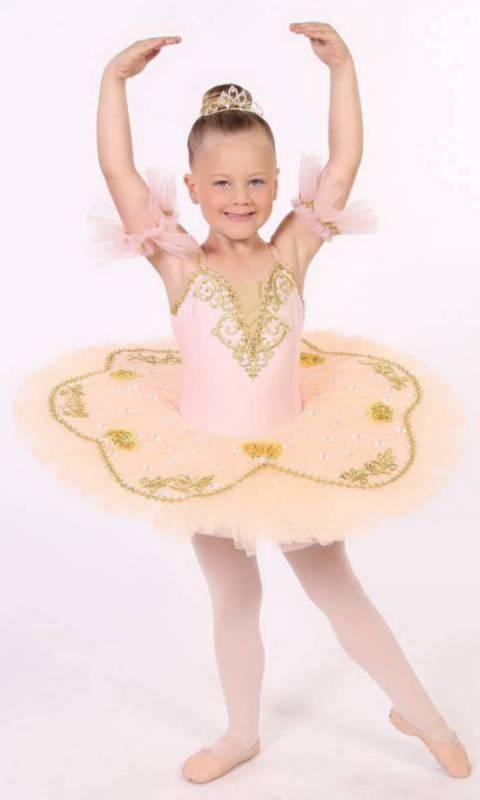 SOPHIA - Pancake Tutu Dance Costume