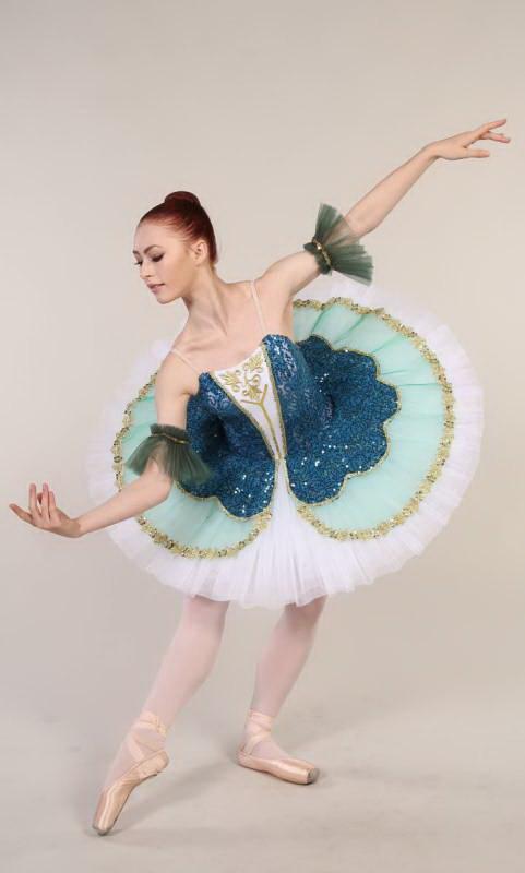TILLEEYA - Pancake Tutu Dance Costume