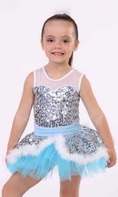 SUSIE SNOWFLAKE  Dance Costume