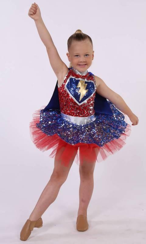 SUPER HERO Dance Costume
