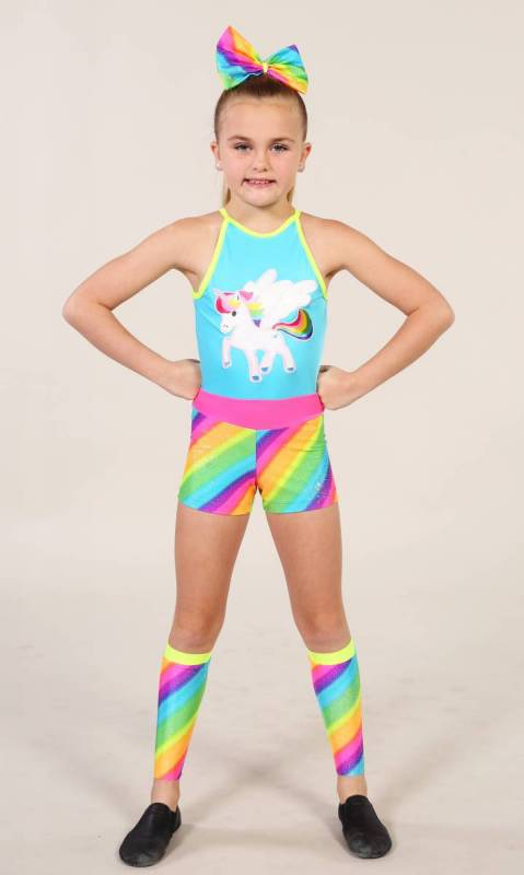 UNICORN shortard + accessories  Dance Costume