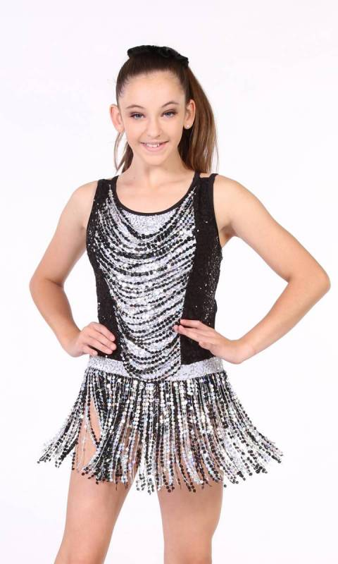 DAZZLE AWAY  - Black and Silver/white