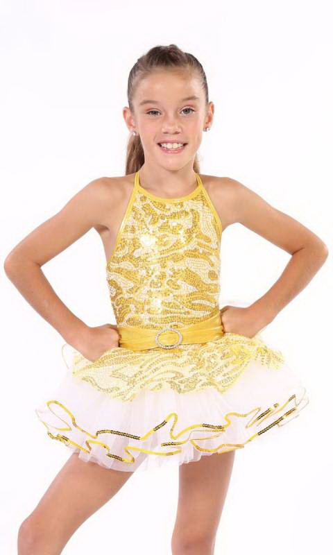 TIGER LILY + hair accessory  Dance Costume