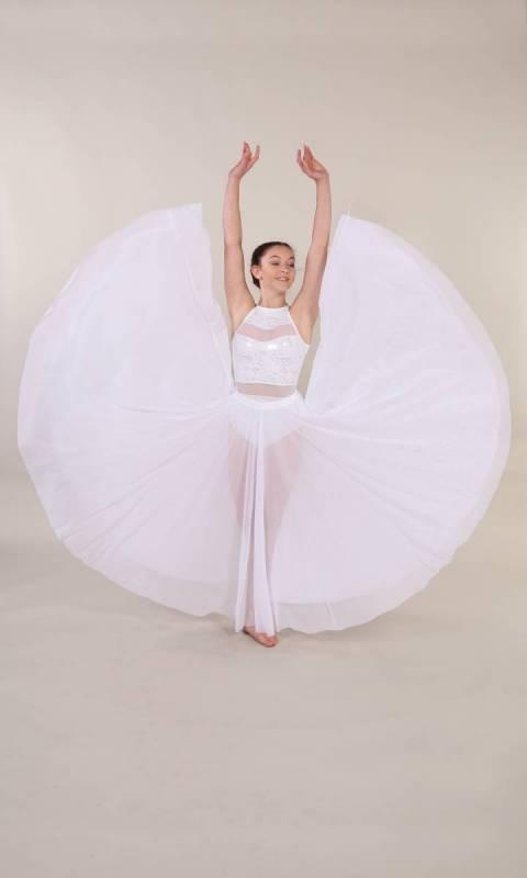 GOSPEL SKIRT Dance Costume