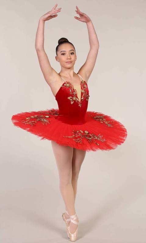 RAMONA - PANCAKE TUTU  Dance Costume