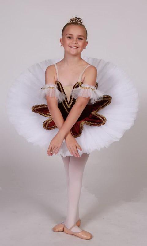 ELIZABETH Pancake tutu  Dance Costume