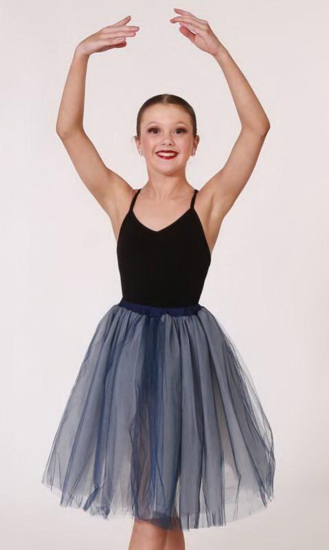 Romantic tutu skirt  Dance Costume