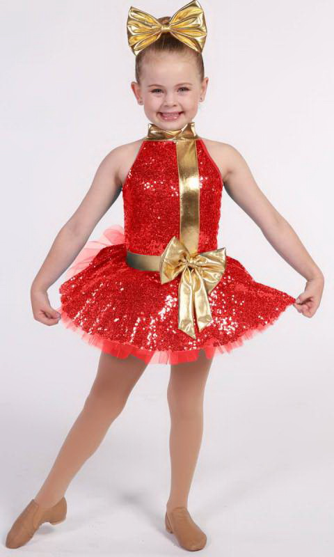 GIFT WRAP + hair accessory  Dance Costume