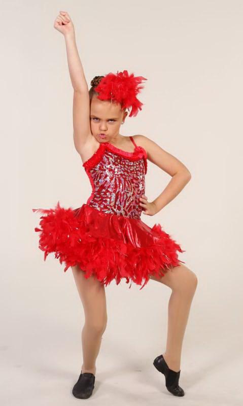 RAZZAMATAZ  Dance Costume