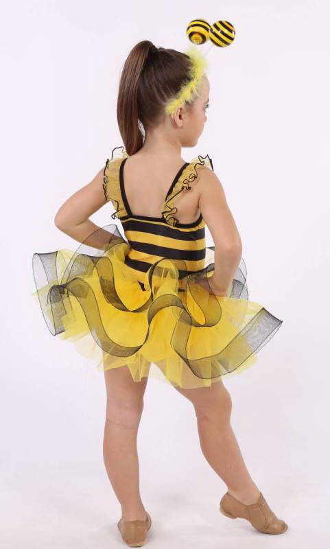 HONEY BEE - Hair Accessory  - YELLOW AND BLACK