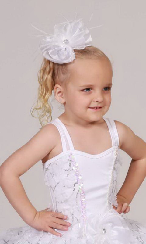 SWEET AND LOVELY plus hair accessory - White