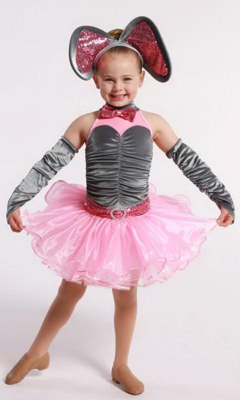 PINK ELEPHANT  Dance Costume
