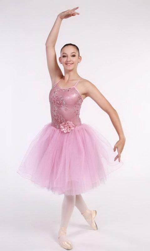 FLORAL DREAMS Romantic tutu  + hair access Dance Costume