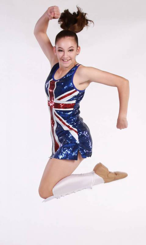 UNION JACK  - Red white and blue