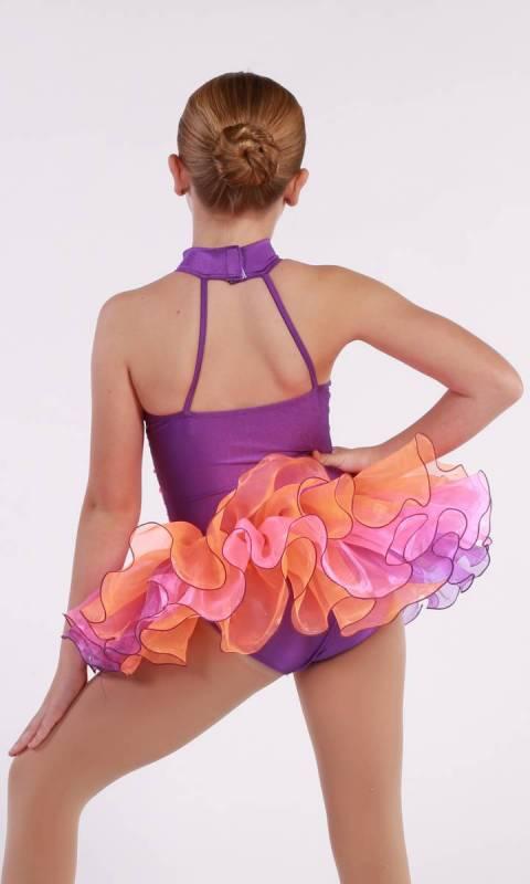 TWIRLY POP - Orange Pink and Purple