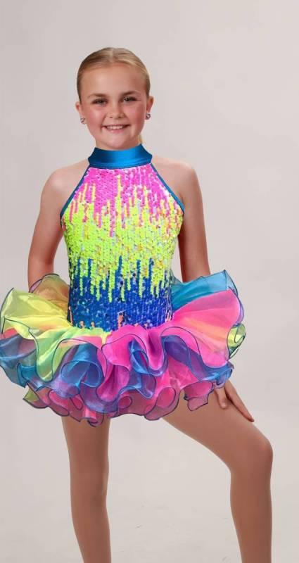 TWIRLY POP Dance Costume