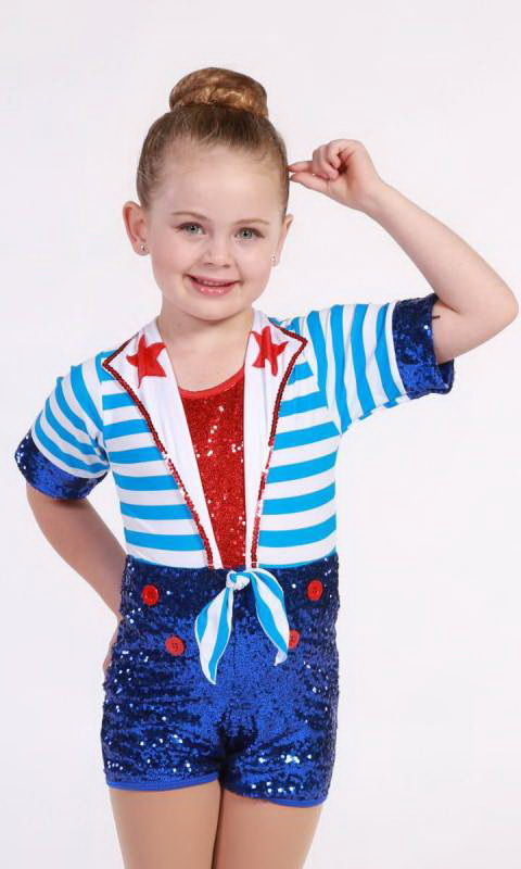 SAIL AWAY Dance Costume