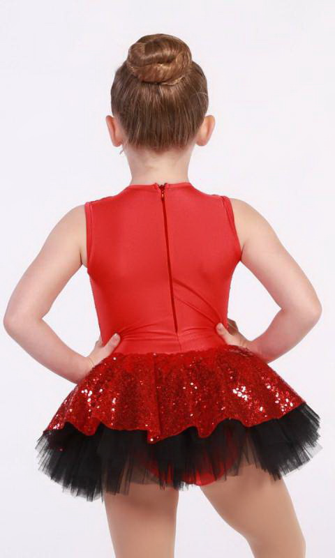 Red and black with gold trim (extra gold piece/plain gold buttons)