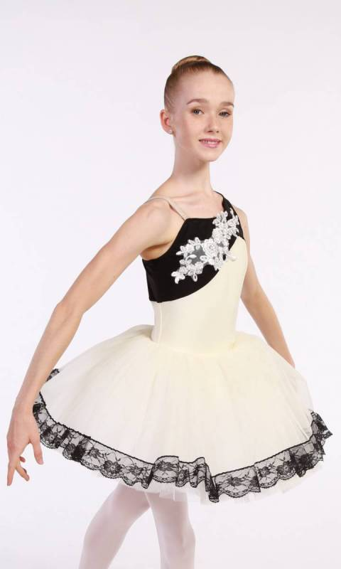 ALTHEA - tutu  - Ivory and White