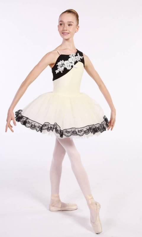 ALTHEA - tutu  - Ivory and White