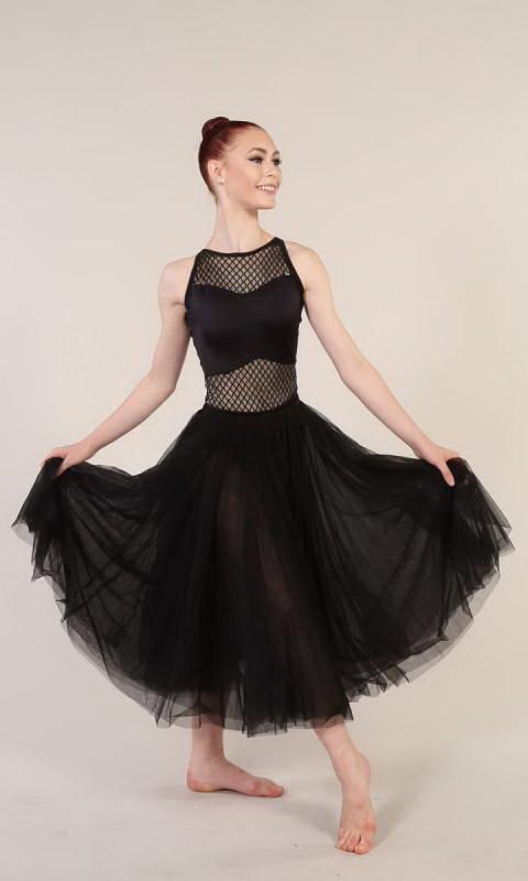 DIAMOND LEOTARD  - Black  - skirt sold separately