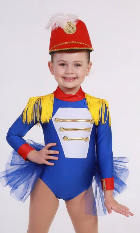SOLDIER GIRL - HAT SOLD SEPARATELY Dance Costume