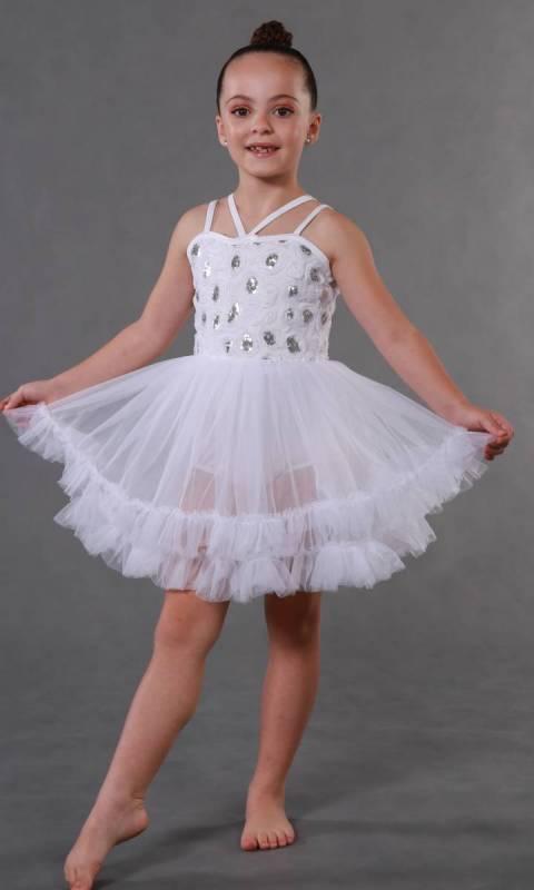 ANGEL BABY + hair accessory  Dance Costume