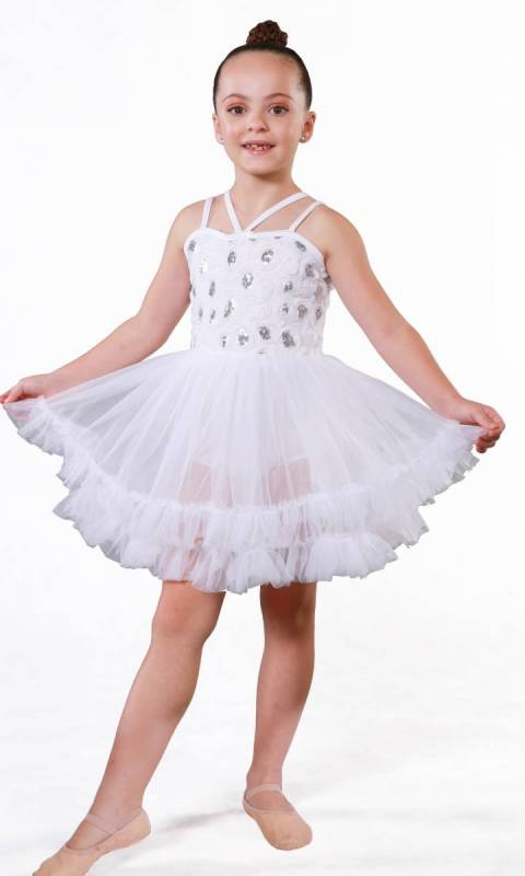 ANGEL BABY + hair accessory  Dance Costume
