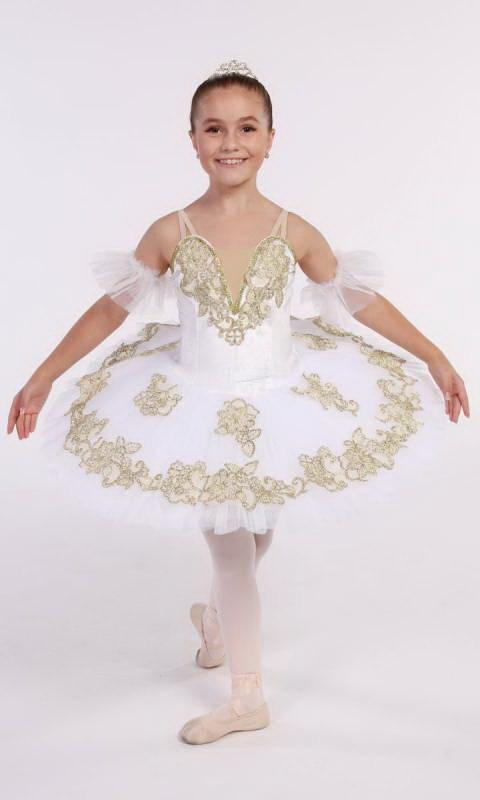 AURIELLA - PANCAKE TUTU  Dance Costume