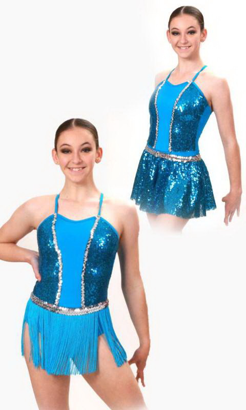 SASS - 3 IN ONE Plus Hair accessory  Dance Costume