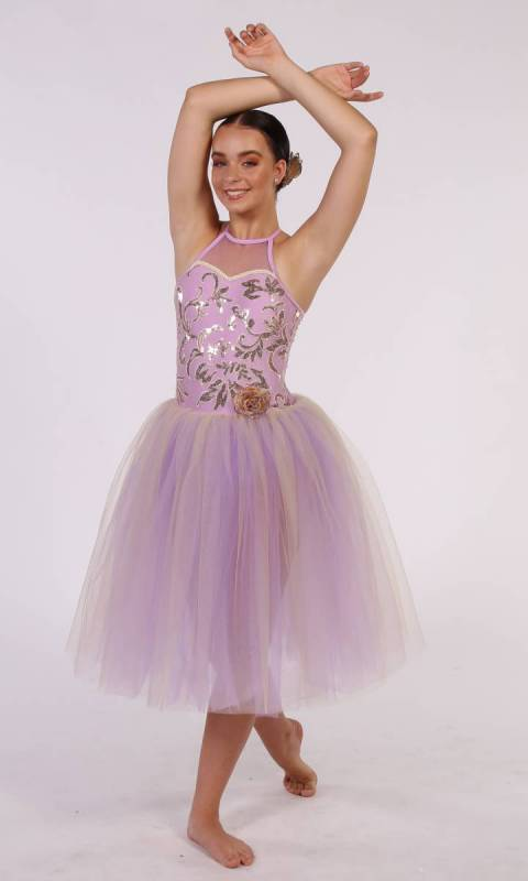 NIGHTINGALE Romantic tutu + HAIR ACCESSORY Dance Costume