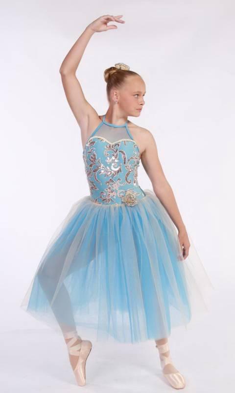 NIGHTINGALE Romantic tutu + HAIR ACCESSORY Dance Costume